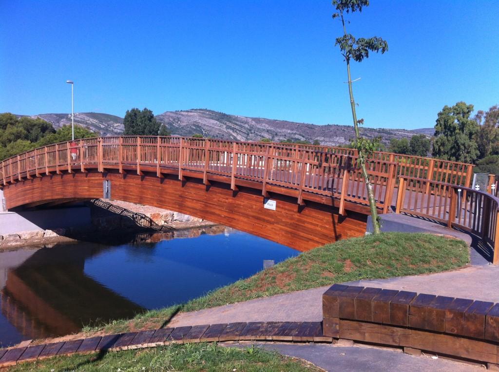 Puente vehicular en Oropesa del Mar (Castellón)