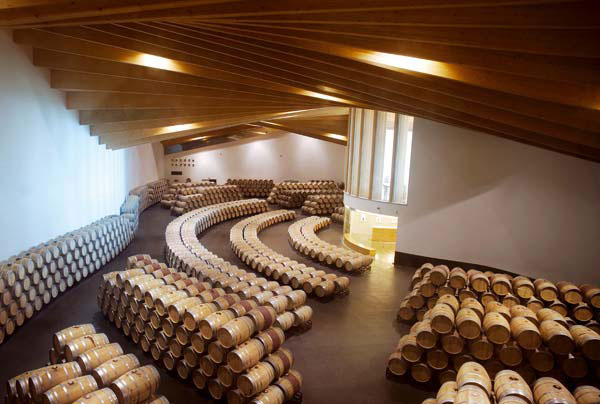 Bodegas Ysios, obra del Arquitecto Santiago Calatrava